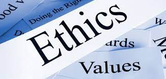 Identify personal values and ethics in the workplace