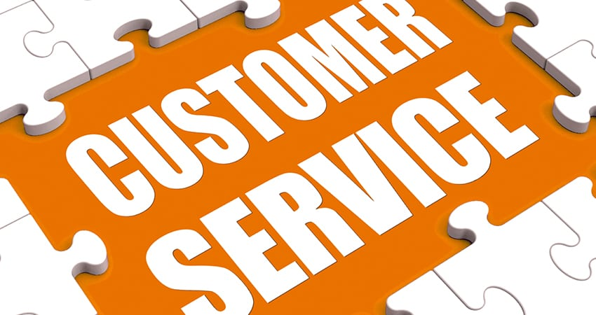 Describe the impact of customer service on a business