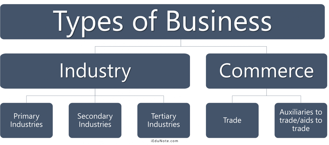 Identify and discuss different types of business and their legal implications